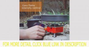 Get Etekcity E-gear Portable Collapsible Outdoor Backpacking Camping Stove Top List