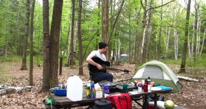 Guitars, Music and Bagpipes – Camping at Bon Echo – Devin Young