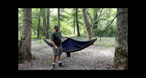 Hammock camping Razors way