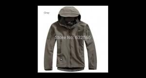 HOT TAD V 4.0 Men Outdoor Hunting Camping Waterproof Coats Jacket Hoodie Army