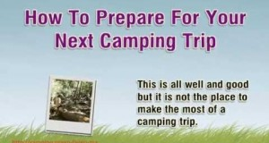 How To Prepare For Your Next Camping Trip