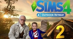 Jahova & Mrs Hova Play The Sims 4 Outdoor Retreat – Bad Grandpa Goes Camping Episode 2