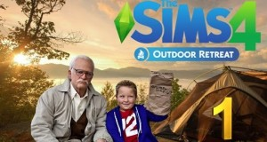 Jahova & Mrs Hova Play The Sims 4 Outdoor Retreat – Bad Grandpa Goes Camping Episode 1