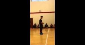 Jeremy Lin teaches at Hornets summer camp