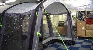 Kampa Hayling 6 Air Tent Walk Around