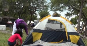 KOA Campsite Tent Building at Key west