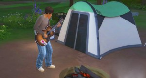 LETS GO CAMPING! (The Sims 4 Outdoor Retreat)