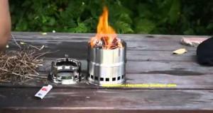 Lixada Tragbar Outdoor Camping Kochtopf eloxiertes Aluminium klappbar Griff Die meisten Bewertungen