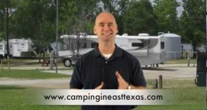 Luxury RV parks and Campgrounds of East Texas- camping with fire- Lake Palestine