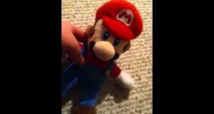 mc712 Short: Mario plush camping special