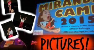 MIRANDA SINGS SUMMER CAMP!!!