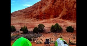 Moab Utah Camping Sand Flats Recreation Area