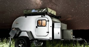 Moby1 expedition trailers with camping off-road