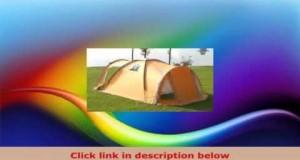 MONTIS HQ VERMONT HILLS 4Person Premium Camping Tent 440×230 cm 72 kg