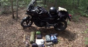 Motorcycle Camping Equipment
