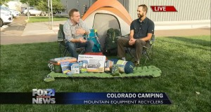 Mountain Equipment Recyclers talk camping with FOX21