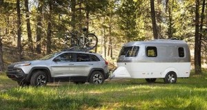 Nest Caravan camping trailer from Bend glamping adventure