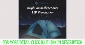 New Etekcity LED Solar Lantern / Lights, Camping Equipment, 10-year Warran Best