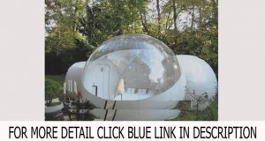 New Inflatable bubble tent outdoor with 2 tunnels Top List