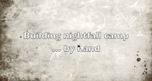 nightfall camp – building luxury tents by hand