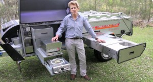 Off-Road Camper Trailer – 2012 Kimberley Kampers Camping Kitchen