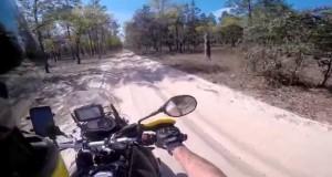 Offroad Moto camping