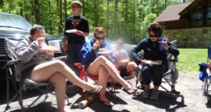 Outdoor Survivors camping at Poe Valley State Park – 20150523