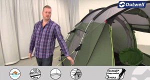 Outwell Birdland 4E Tent  | Innovative Family Camping | 2015