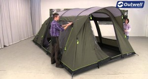 Outwell Clipper XL Tent Pitching Video | Innovative Family Camping