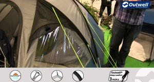 Outwell Cloud 4 Tent  | Innovative Family Camping | 2015