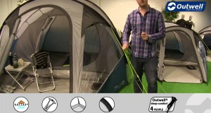Outwell Cloud 5 Tent  | Innovative Family Camping | 2015