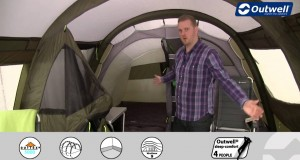 Outwell Corvette L Tent | Innovative Family Camping