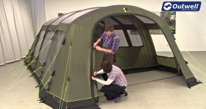 Outwell Corvette XL Tent Pitching Video | Innovative Family Camping