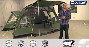 Outwell Glendale 7E Tent  | Innovative Family Camping | 2015