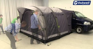 Outwell Hollywood Freeway Tent Pitching Video | Innovative Family Camping
