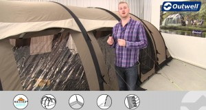 Outwell Tent Concorde M & L Front Awning | Innovative Family Camping