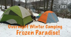 Overnight Winter Camping – Frozen Paradise!