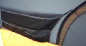 Ozark Trail Tent 8 man Instant Tent in rain