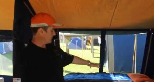 Presenting the limited edition Diamantina Grand Palace Tent with new features for family camping