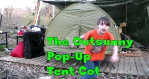Product Review : The Outsunny Pop-Up Tent Cot