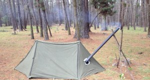 Pup Tent Modifications – Bushcraft Shelter Hot Tent