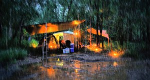 Rainy Camping Trip | Sleep Relaxation Ambient Sounds