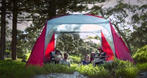 Retreat tent camping range