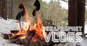 segaprophet vlogs – winter camping
