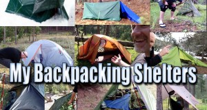 Shelters/Tents/Tarps I've Used For Backpacking – from March 2013 to January 2015