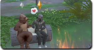 "Sims 4 Outdoor Retreat ""Darth Vader goes Camping"" Gameplay"