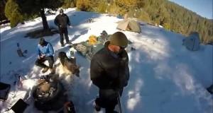 Snow Camping 2015