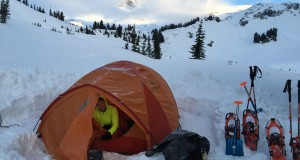 Snow Camping & Snowshoeing Overnight
