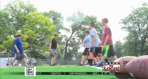 St. Francis Head Football Coach Kevin Donley holds 14th Annual Football Camp for Kids