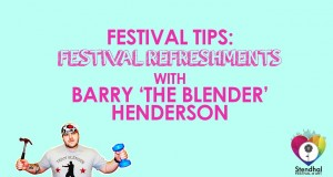 Stendhal festival of Art presents – Camping tips with Barry The Blender Henderson – Refreshments